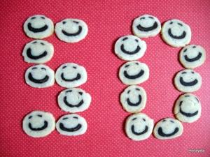 עוגיות סמיילי מבצק פריך