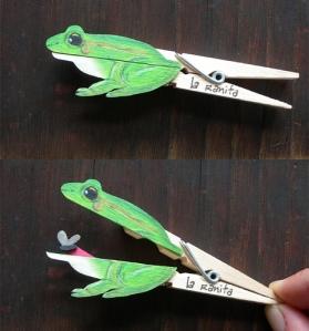צפרדע אטב