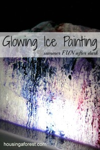 Glowing-Ice-Painting