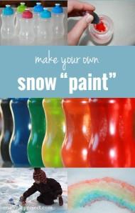 ציור בשלג