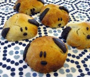 עוגיות כלבלבים ממולאות שוקולד
