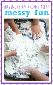 Shaving-Cream-and-Corn-Starch-Sensory-Experience-300x480