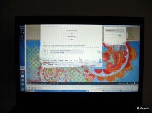 מתחיה: מסך מחשב הפוף