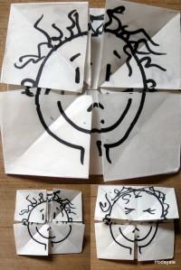 פרצוף אוריגמי