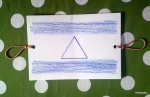 Thaumatrope דגל ישראל יצירה עם ילדים