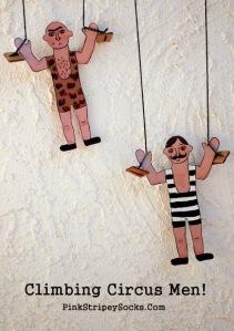 climbing circus men