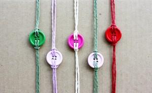 צמיד כפתור- יצירה עם ילדים